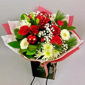 Candy Cane Hand Tied