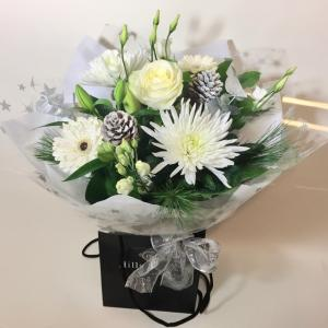 Frosty Hand Tied