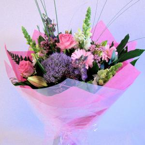 Pink & Lilac Tissue Wrap