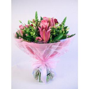 Summer pink hand Tied