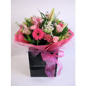 Passionate Pink Hand Tied