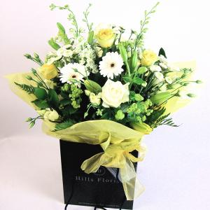Lemon Sorbet Hand Tied