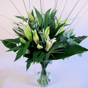 Scented Lilly Vase