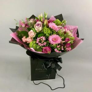 Perfectly Pink hand Tied