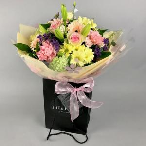 Pretty Pastels Hand Tied