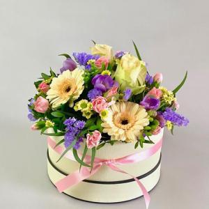 Pretty Pastels Hat Box