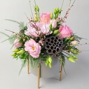 Pink Lotus Arrangement
