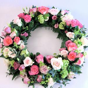 Exquisite Rose Wreath